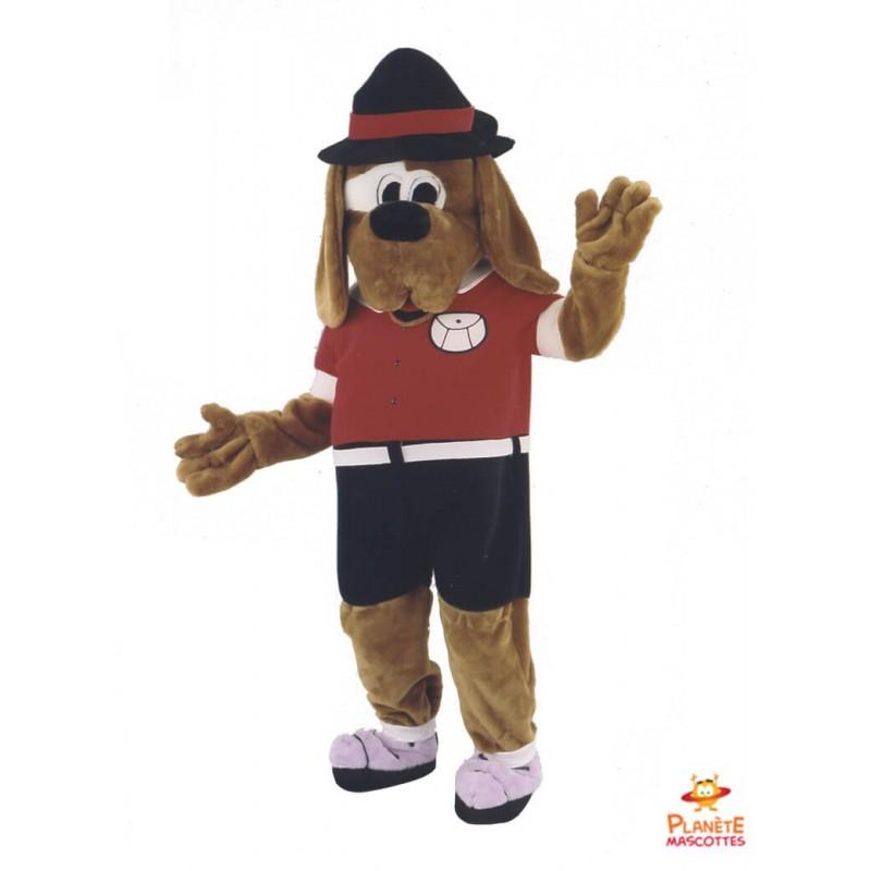 Mascotte chien habillé Planète Mascottes