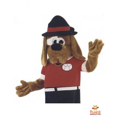 Mascotte chien habillé