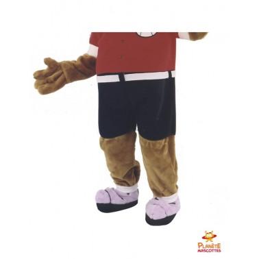 Pantalon mascotte chien habillé Planète Mascottes