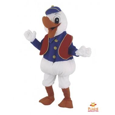 Costume mascotte de Canard