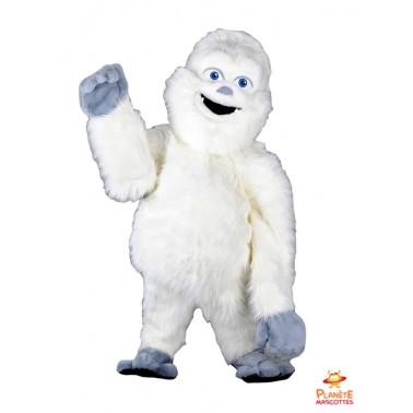 Costume mascotte de Yeti