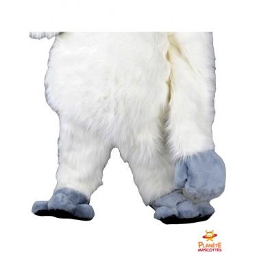 Pantalon mascotte de yeti