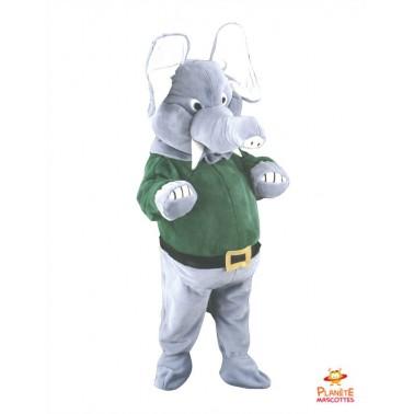 Mascotte éléphant Planète Mascottes