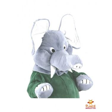 Costume mascotte d'éléphant