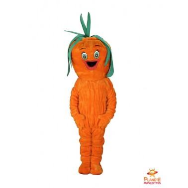 Carrot mascot costume