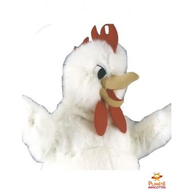 Costume mascotte de poulet