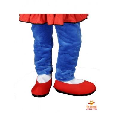 Pantalon costume mascotte lapine