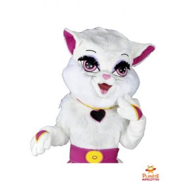 Costume mascotte de chatte