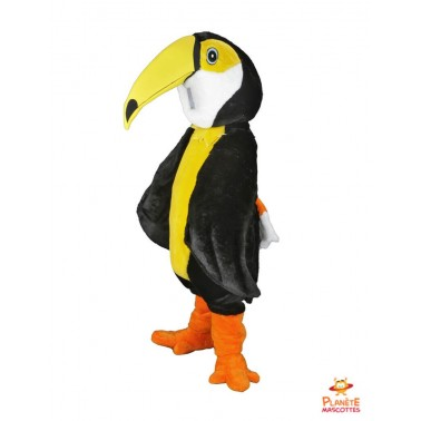 Costume mascotte de Perroquet