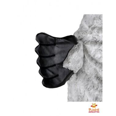 Détails mascotte costume morse