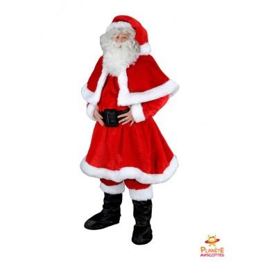 Mascotte Père Noël professionnel Planète Mascottes