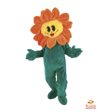 Sunflower Mascot Costume