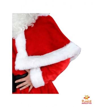 Détails costume Père Noël professionnel