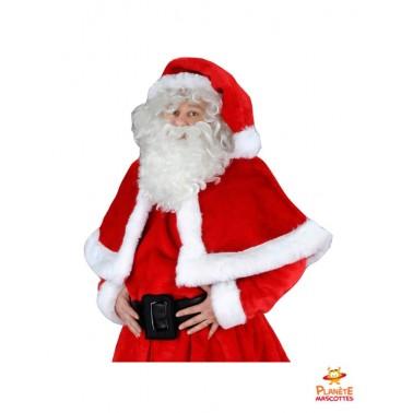 Costume mascotte Père Noël professionnel