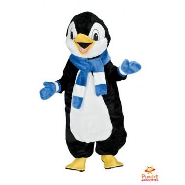 Pinguin mit Schal