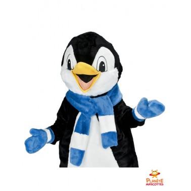Costume pingouin mascotte