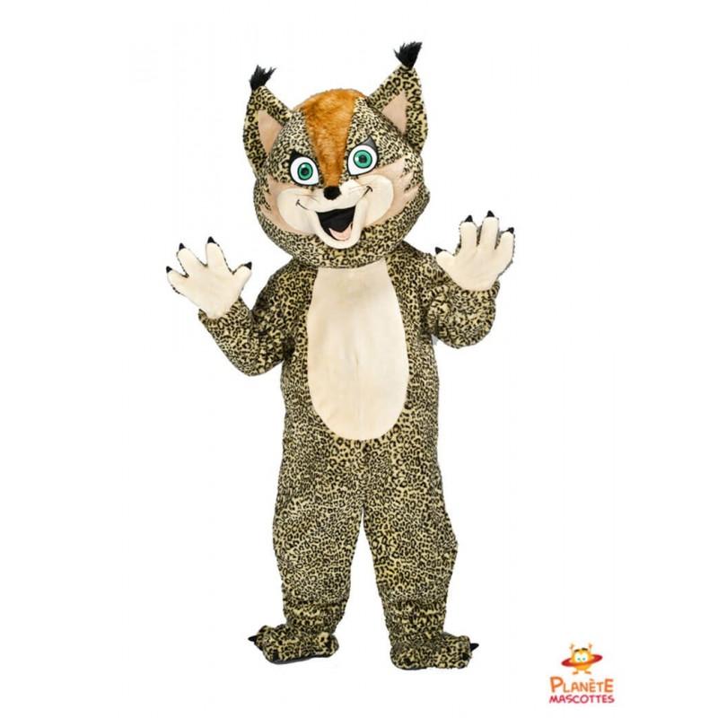 Mascotte léopard Planète Mascottes