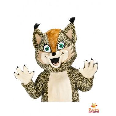 Costume mascotte de léopard