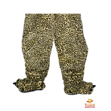 Pantalon costume mascotte léopard