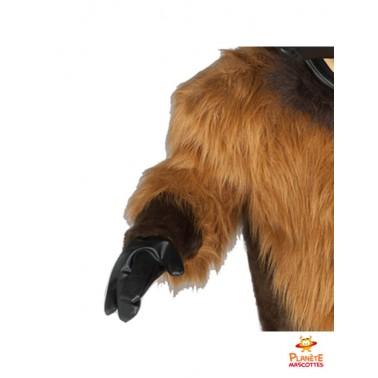 Détails mascotte taureau