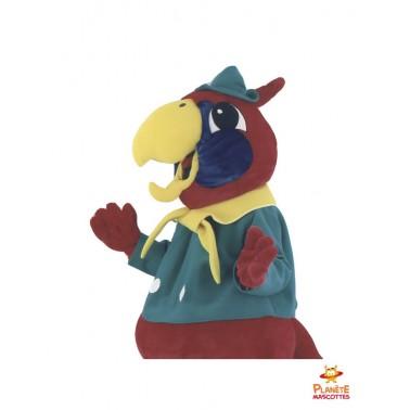 Costume mascotte géante perroquet