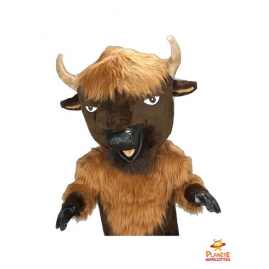Costume mascotte de taureau