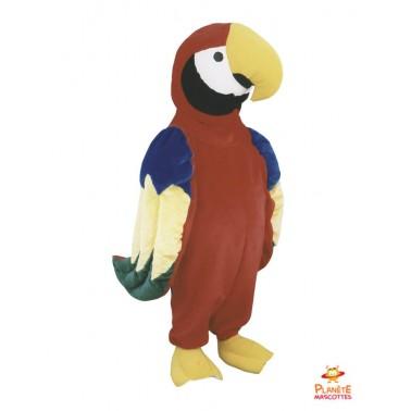 Disfraz del papagayo Planète Mascottes