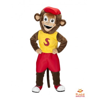 Monkey costume mascot