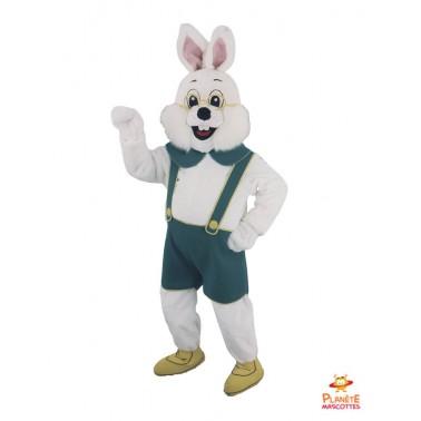Bavarian Rabbit Mascot Costume