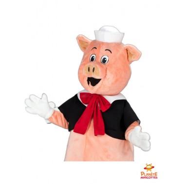 Costume mascotte de cochon