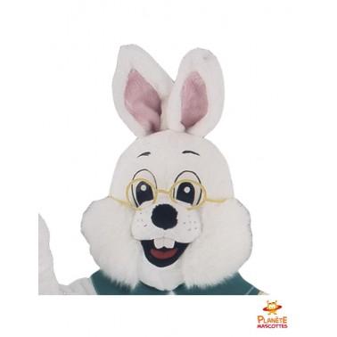 Tête costume mascotte lapin bavarois