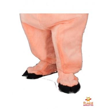 Pantalon mascotte de cochon