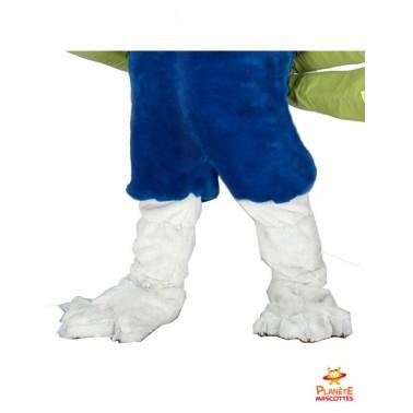 Pantalon mascotte de paon