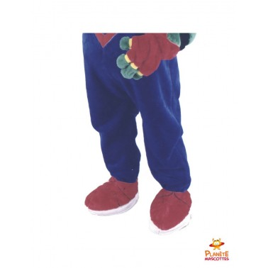 Pantalon mascotte de crocodile