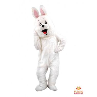 Disfraz conejo blanco Planète Mascottes
