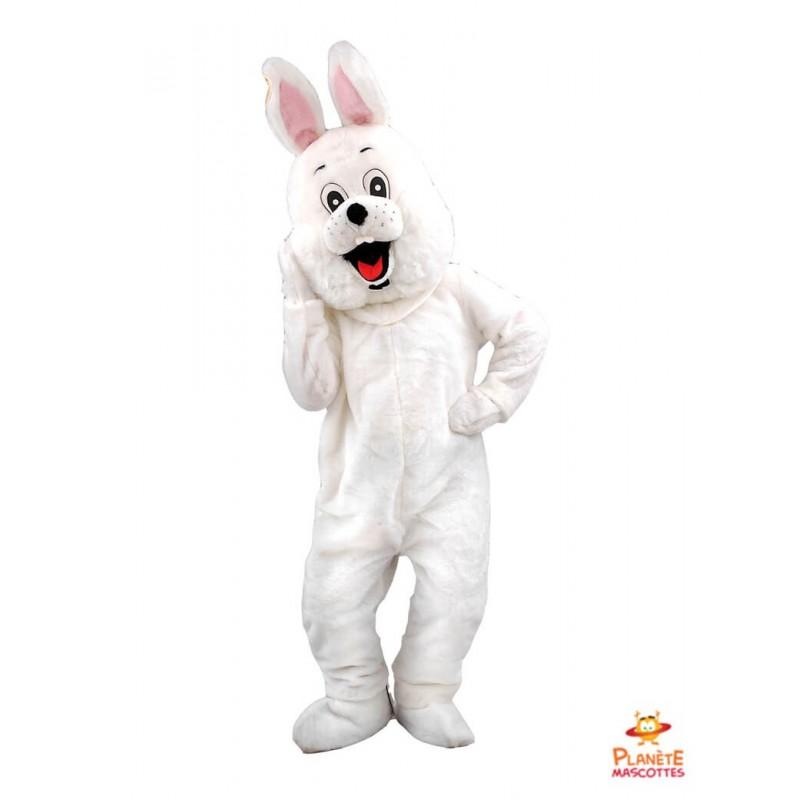Mascotte lapin blanc Planète Mascottes