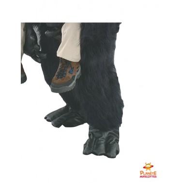 Pantalon mascotte à dos de gorille