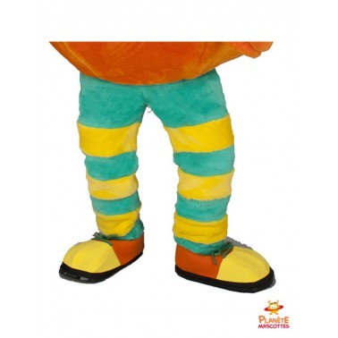 Pantalon mascotte orange