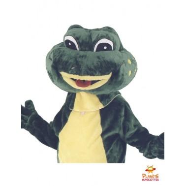 Costume mascotte de grenouille