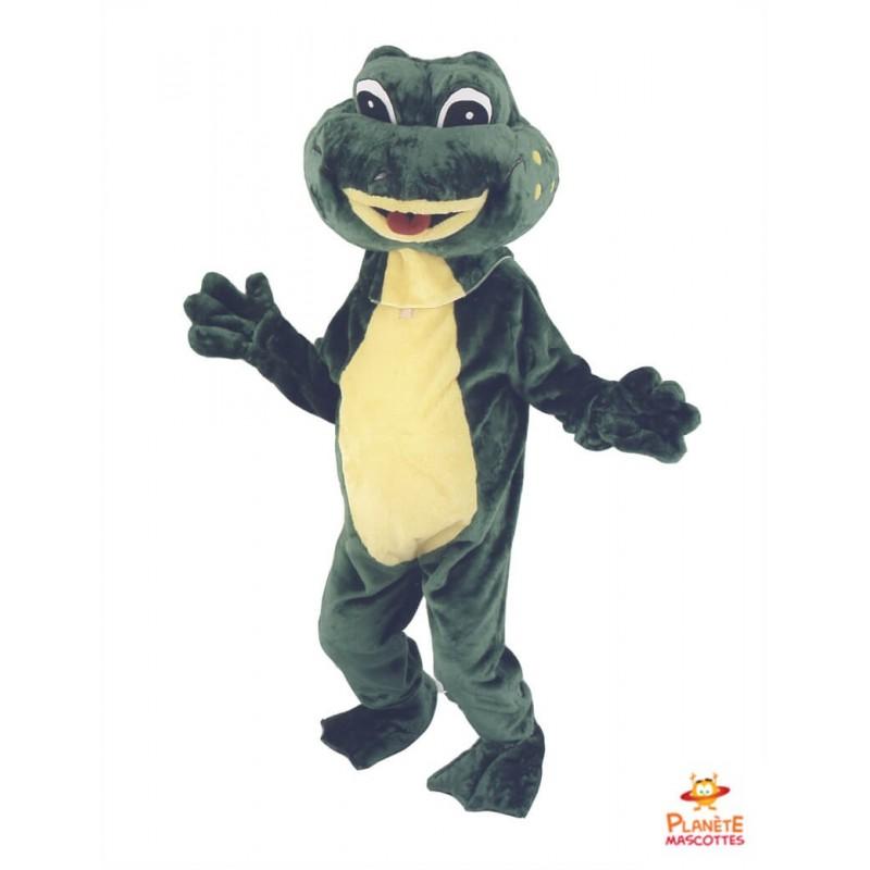 Mascotte grenouille Planète Mascottes