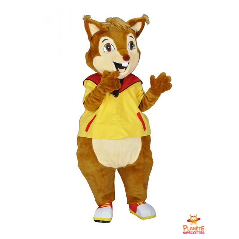 Mascotte de renard Planète Mascottes