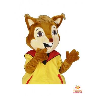 Costume mascotte de renard