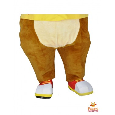 Pantalon mascotte de renard