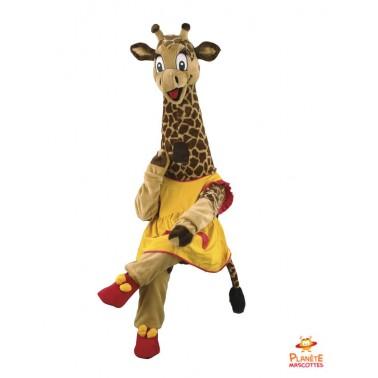 Costume mascotte de Girafe