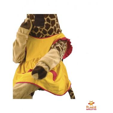 Costume girafe Planète Mascottes