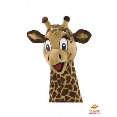 Tête costume mascotte girafe
