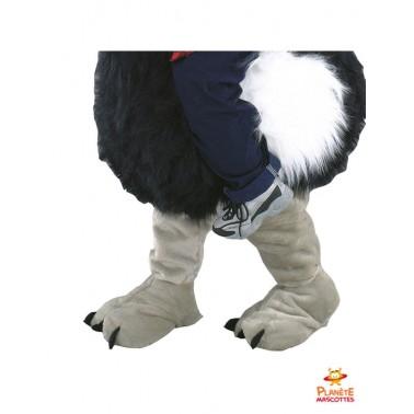 Pantalon mascotte à dos d'autruche
