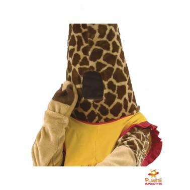 Cou mascotte girafe