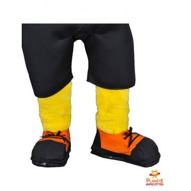 Pantalon mascotte de chien jaune