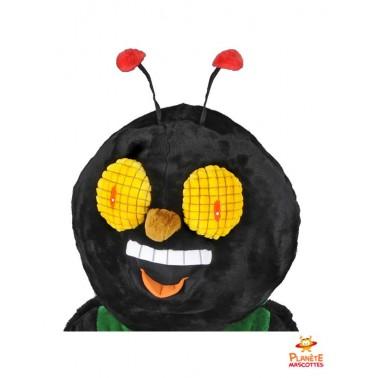 Tête mascotte de mouche